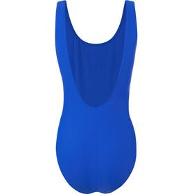 speedo Logo Deep U-Back Swimsuit Women, azul